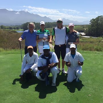 Cape Town Guided Golf Tours